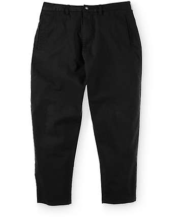 LRG Killson Black Cropped Chino Pants