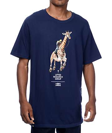 LRG Leaps N Bounds Navy T-Shirt