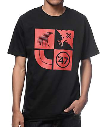 LRG Lifted Cluster Black T-Shirt