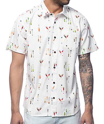 LRG Lifted Crew Woven Button Up Shirt