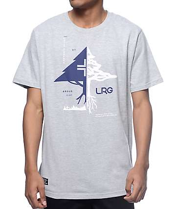 LRG Natural Tactics Grey T-Shirt