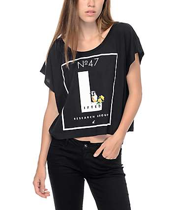 LRG No. 47 Lifted Black Crop T-Shirt