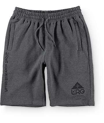 LRG One Icon Charcoal Sweat Shorts
