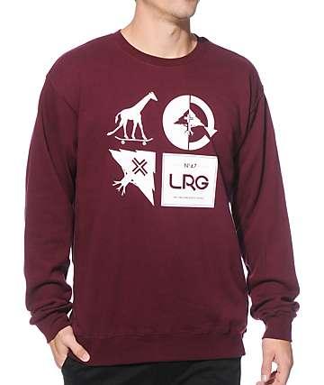 LRG RC Logo Mashup Crew Neck Sweatshirt