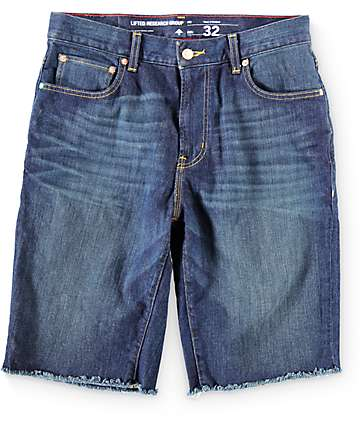 LRG Raw Edge Denim Shorts