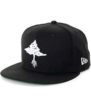 LRG Retro Eternity Black Snapback Hat