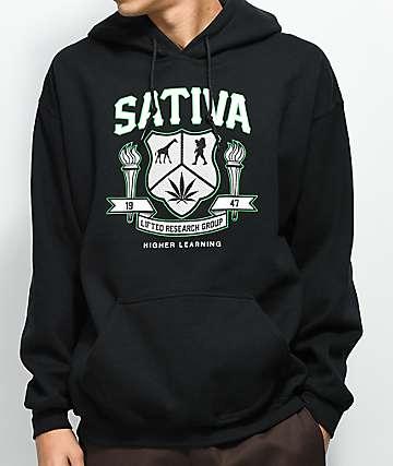 LRG Sativa High Black Hoodie