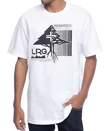 LRG Split Tree White T-Shirt