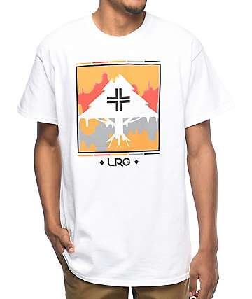 LRG Tree Dripper White T-Shirt