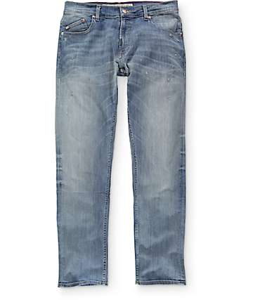 LRG True Taper Light Destroyed Regular Fit Jeans