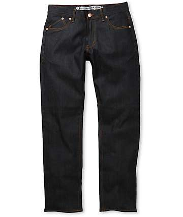LRG True Tapered Dry Indigo Regular Fit Jeans