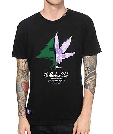 LRG x Smokers Club Splittin Trees T-Shirt