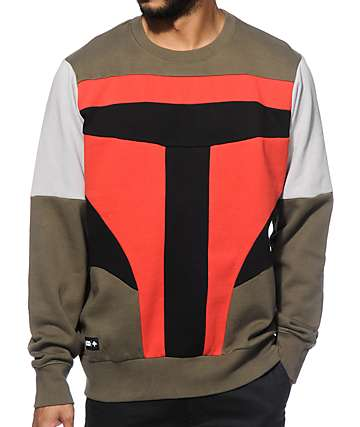 LRG x Star Wars Boba Face Crew Neck Sweatshirt