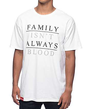 La Familia Family Blood White T-Shirt