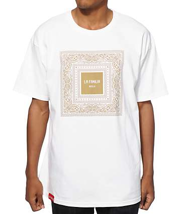 La Familia Framed 3 Gold T-Shirt