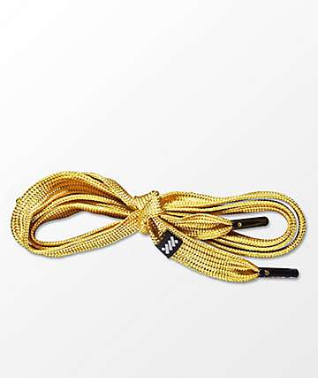 Lacorda OG Gold Shoelace Belt