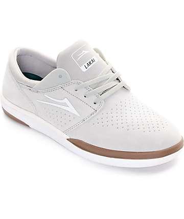 Lakai Fremont White Skate Shoe