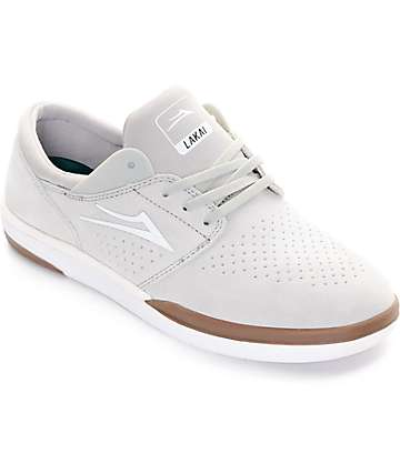 Lakai Fremont White Skate Shoes