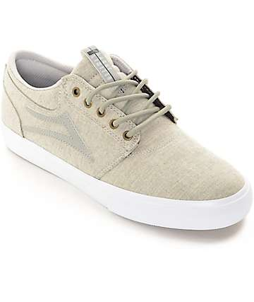 Lakai Griffin Ash Textile Skate Shoes