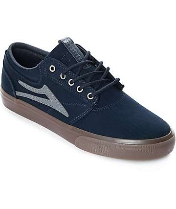 Lakai Griffin Navy & Gum Skate Shoes