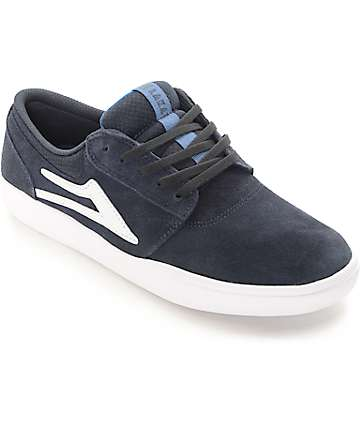 Lakai Griffin XLK Navy Suede Skate Shoes