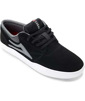 Lakai Griffin XLK zapatos de skate en blanco, negro y gris