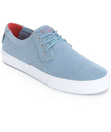 Lakai MJ Stone Wash Skate Shoes