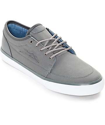 Lakai Madison Cement Canvas Skate Shoes