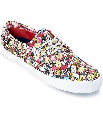 Lakai x Hello Sanrio Camby Sanrio Pattern zapatos de skate de lona