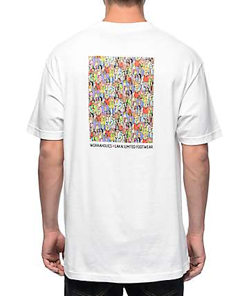 Lakai x Workaholics Get Weird White T-Shirt
