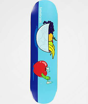 "Lamebrain Bad Apple 8.25"" Skateboard Deck"