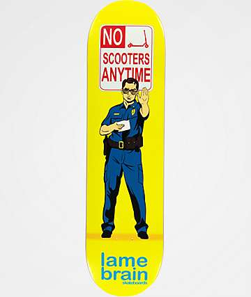 "Lamebrain Scooter 8.25"" Skateboard Deck"