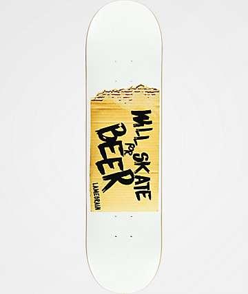"Lamebrain Skate Bum 8.0"" Skateboard Deck"