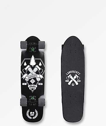 """Landyachtz Axes Dinghy 28.5"""" completo de skate cruiser"""