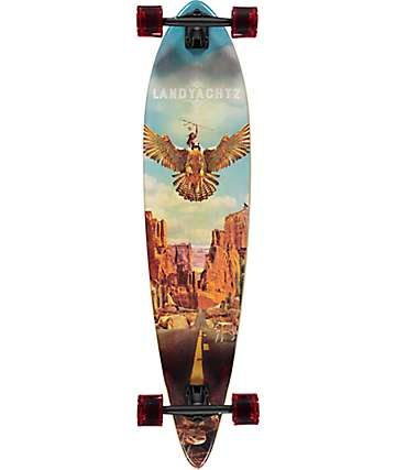 "Landyachtz Bamboo Pinner Canyon 44"" Longboard Complete"