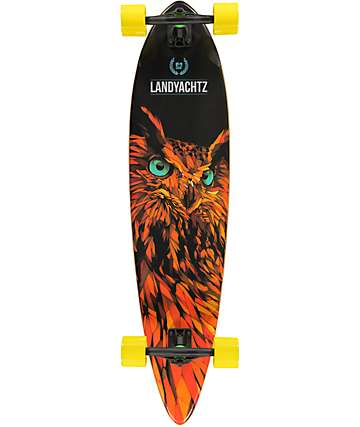 "Landyachtz Bamboo Totem 41"" Pintail Longboard Complete"