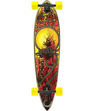 "Landyachtz Bamboo Totem Chili 41"" Longboard Complete"