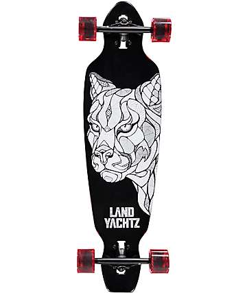 "Landyachtz Battle Axe Cougar 35"" Drop Through Longboard Complete"