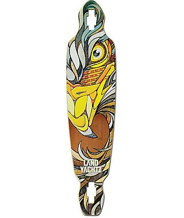 "Landyachtz Battle Axe Eagle 40.25""  Drop Through Longboard Deck"
