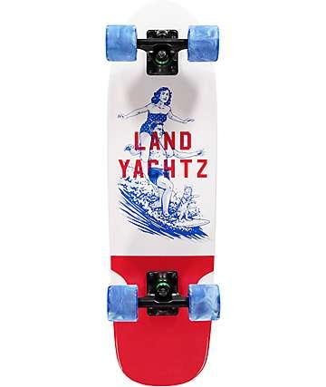 "Landyachtz Dinghy Surfer 28.5"" cruiser completo de skate"