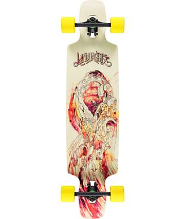 "Landyachtz Drop Carve 40"" Drop Through Longboard Complete"