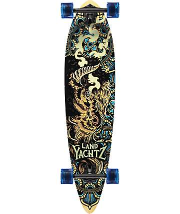 "Landyachtz Fiberglass Totem Buffalo 41"" Longboard Complete"