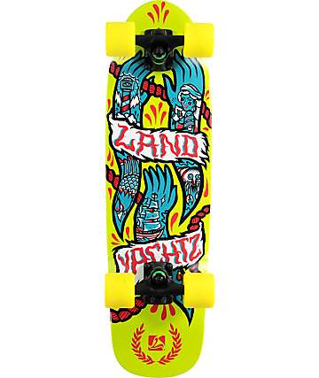 "Landyachtz Hands Dinghy 28.5""  Cruiser Complete Skateboard"