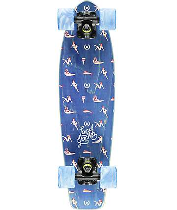 "Landyachtz Mini Dinghy Nautical 24""  Cruiser Complete Skateboard"