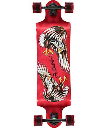 "Landyachtz Switch Eagle 35"" Drop Down Longboard Complete"