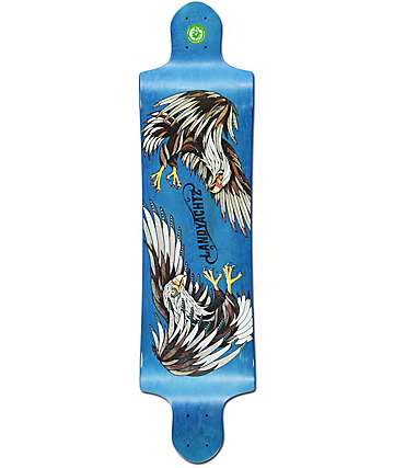 "Landyachtz Switch Eagle 40""  Drop Down Longboard Deck"