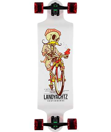 "Landyachtz Switch Skeleton 35"" Longboard Complete"