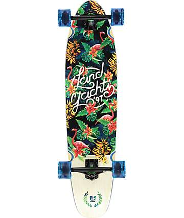 "Landyachtz Tropical Ripper 37"" tabla longboard completo"