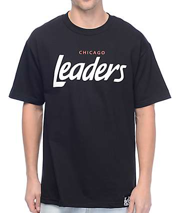 Leaders Chicago Leaders Black T-Shirt