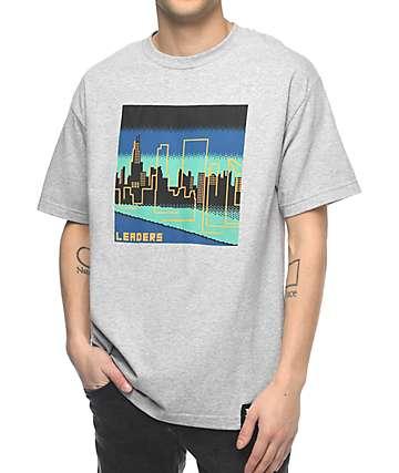 Leaders Chicago Skyline camiseta gris